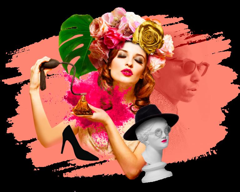 pink fine fragrance woman