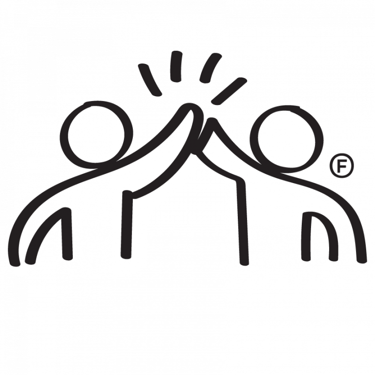 technical support - high five graphic